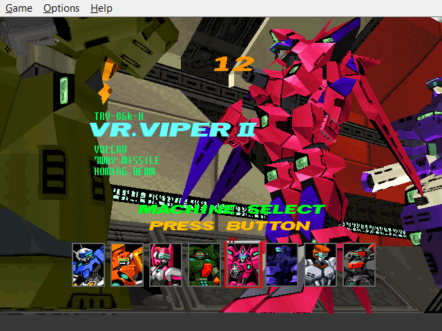 Virtual-On: Cyber Troopers