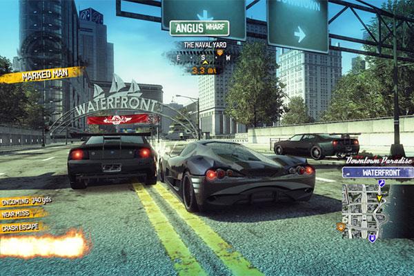 เกมแข่งรถBurnout2