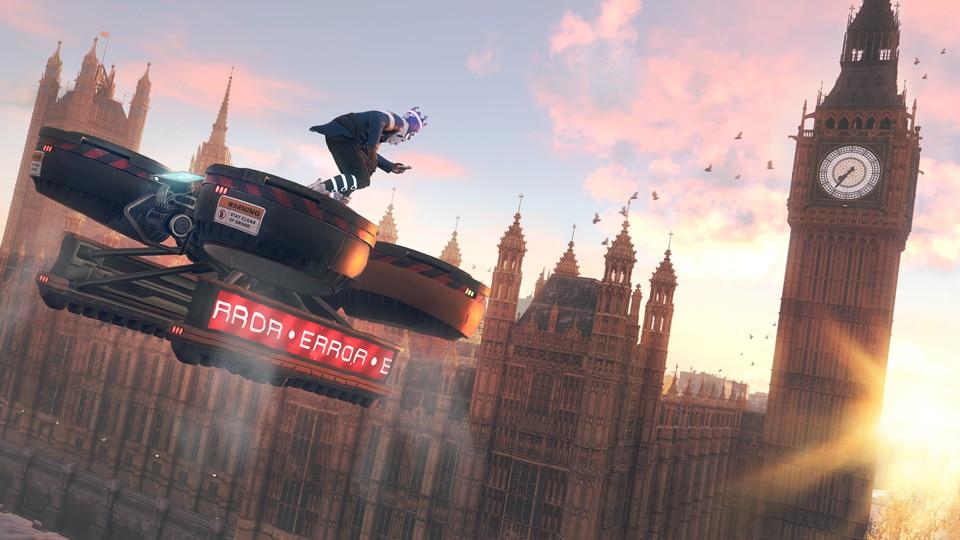 ร่วมปลดปล่อยลอนดอนกับเกม Watch Dogs Legion