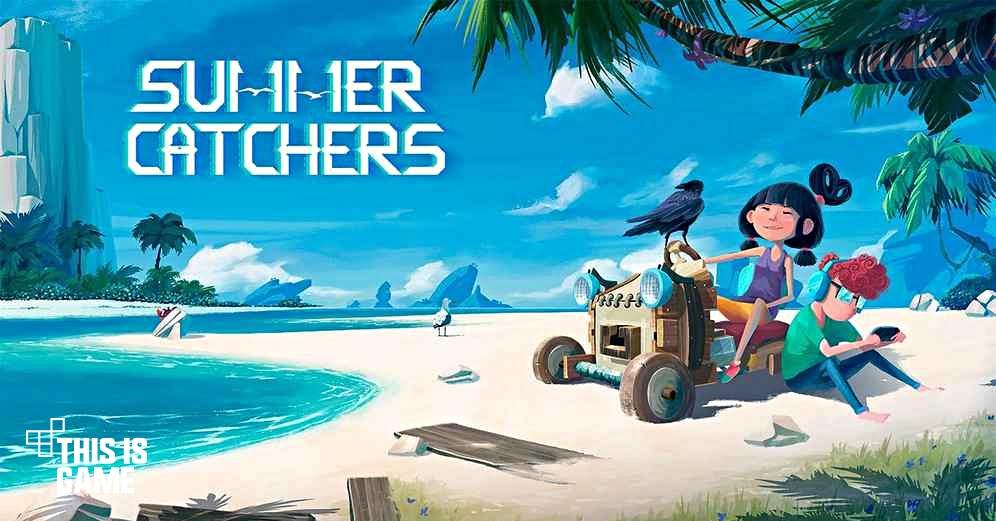 รีวิวเกม IOS :: Summer Catchers เด็กผู้หญิงตะลุยโลกบนรถเข็น คีบตุ๊กตา เกมตู้ เกมอาร์เคด ตู้คีบตุ๊กตา โมเดล ตู้คีบ Summer Catchers เกมมือถือ