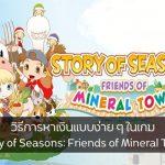 วิธีการหาเงินแบบง่าย ๆ ในเกม Story of Seasons: Friends of Mineral Town