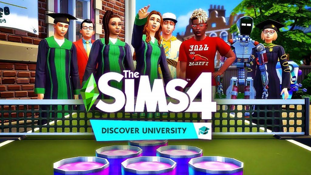 The Sims 4: Discover University ยกกระเป๋า เข้ารั้วมหาลัยกันเถอะ คีบตุ๊กตา เกมตู้ เกมอาร์เคด ตู้คีบตุ๊กตา โมเดล ตู้คีบ ReviewGame TheSims4 DiscoverUniversity