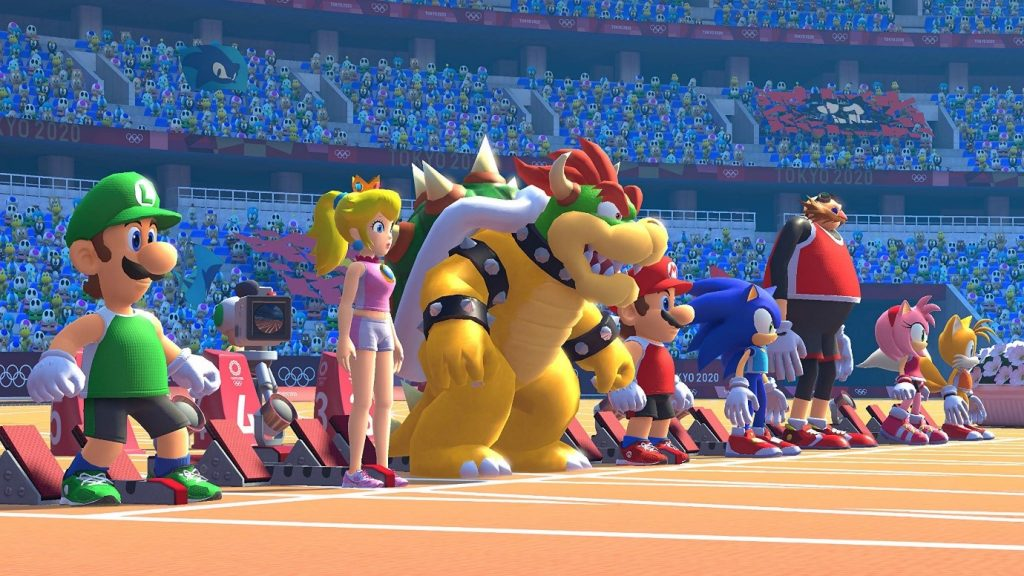 Nintendo Switch : รีวิว Mario & Sonic at the Olympic Games Tokyo 2020 คีบตุ๊กตา เกมตู้ เกมอาร์เคด ตู้คีบตุ๊กตา โมเดล ตู้คีบ ReviewGame NintendoSwitch Mario&SonicAtTheOlympic