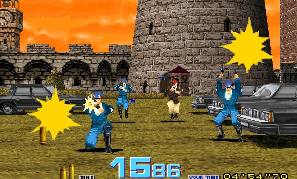 Time Crisis เกมตู้ยิงปืนกับ 25 ปีที่หลายคนคุ้นเคย คีบตุ๊กตา เกมตู้ เกมอาร์เคด ตู้คีบตุ๊กตา โมเดล ตู้คีบ ReviewGame TimeCrisis