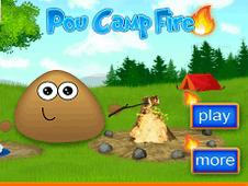 เกมพูตั้งแคมป์ Pou Camp Fire คีบตุ๊กตา เกมตู้ เกมอาร์เคด ตู้คีบตุ๊กตา โมเดล ตู้คีบ ReviewGame PouCampFire