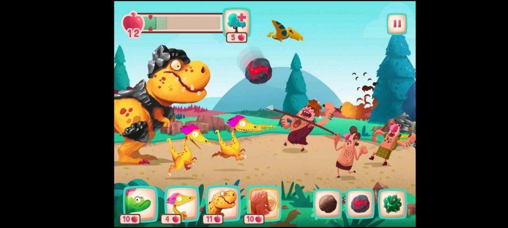 เกมออฟไลน์น่าเล่น Dino Bash ศึกไดโนเสาร์ประจัญบาน คีบตุ๊กตา เกมตู้เกมอาร์เคดตู้คีบตุ๊กตาโมเดลตู้คีบ ReviewGame DinoBash